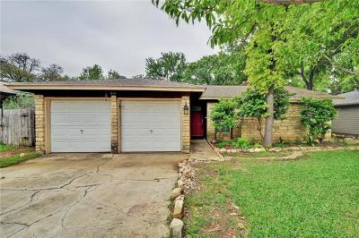 Cedar Park Single Family Home Pending - Taking Backups: 616 Russet Valley Dr