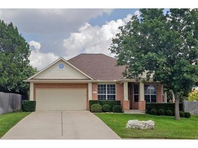 Round Rock Single Family Home For Sale: 3205 Aquila Ct
