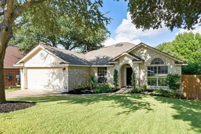 Round Rock Single Family Home Pending - Taking Backups: 1828 Red Rock Dr