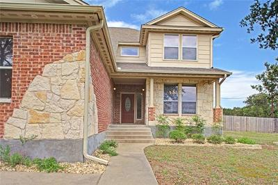 Lampasas Single Family Home Pending - Taking Backups: 326 Sunrise Hls