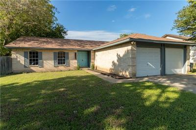 Round Rock Single Family Home For Sale: 2008 Ridgetop Dr