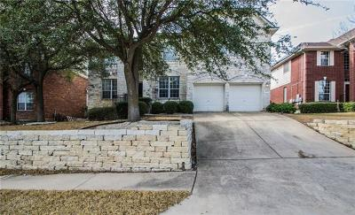 Cedar Park TX Single Family Home Pending - Taking Backups: $385,000