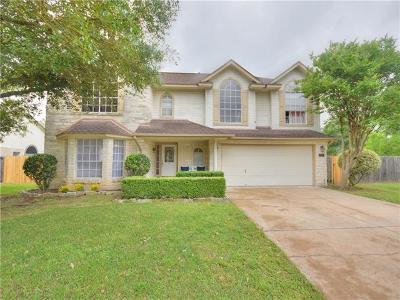 Pflugerville Single Family Home For Sale: 1009 Parkcrest Ct