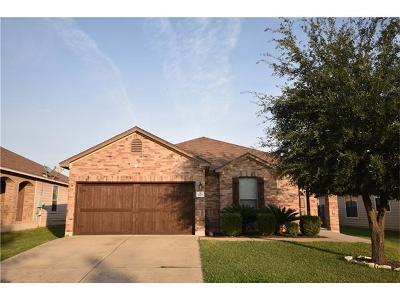 Round Rock Single Family Home For Sale: 1327 Arizona Mesa Cv