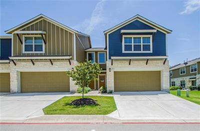 Round Rock Condo/Townhouse For Sale: 1620 Bryant Dr #2503