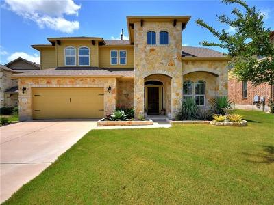 Round Rock Single Family Home For Sale: 208 Paul Azinger Ct