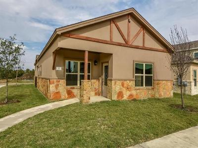 Round Rock Single Family Home For Sale: 2800 Joe Dimaggio Blvd #37