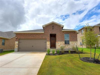 Round Rock Single Family Home For Sale: 2032 Hat Bender Loop