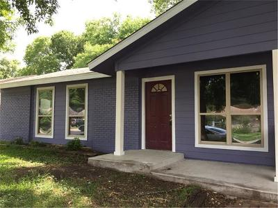 Single Family Home For Sale: 6104 Idlewood Cv