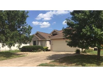 Leander Single Family Home Pending - Taking Backups: 1810 Waterfall Ave