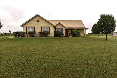 Jarrell Single Family Home Active Contingent: 1410 County Road 332
