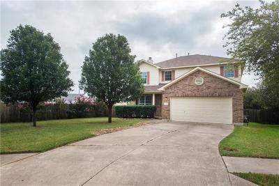 Cedar Park Single Family Home Pending - Taking Backups: 2310 Drue Ln