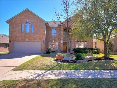 Round Rock Single Family Home For Sale: 6026 Ronchamps Dr