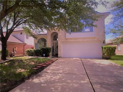Round Rock Single Family Home For Sale: 813 Hank Aaron Ln