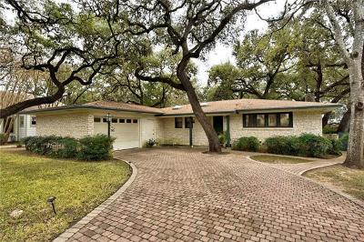Austin Single Family Home Pending - Taking Backups: 2903 Bonnie Rd
