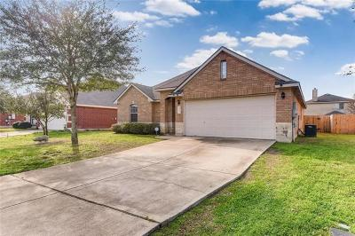 Hutto Single Family Home Pending - Taking Backups: 400 Peaceful Haven Way