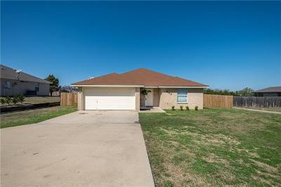 Harker Heights Single Family Home For Sale: 607 Jorgette Dr