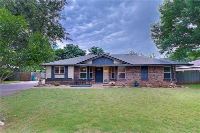 Cedar Park Single Family Home Pending - Taking Backups: 200 N Mount Rushmore Dr