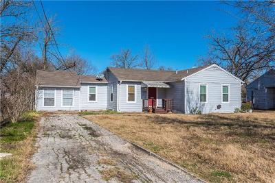 Lockhart Single Family Home For Sale: 1007 W Prairie Lea St