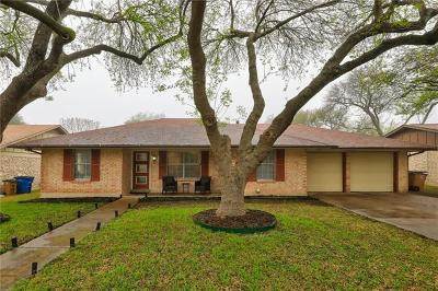 Austin Single Family Home Pending - Taking Backups: 10200 Parkfield Dr