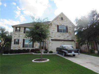 Spicewood Single Family Home For Sale: 5508 Wild Foxglove Rd