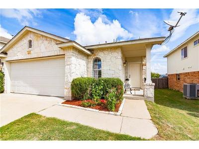 Pflugerville Single Family Home Pending - Taking Backups: 1204 Peppermint Trl