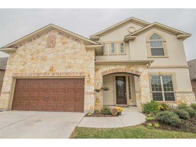 Round Rock Single Family Home For Sale: 3888 Skyview Way