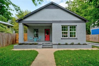 Austin Single Family Home For Sale: 1708 Garden St
