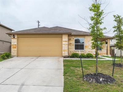 Hutto Single Family Home Pending - Taking Backups: 503 San Antonio Riverwalk