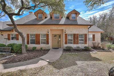 Dripping Springs Single Family Home For Sale: 605 Bending Oak Dr