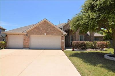 Pflugerville Single Family Home For Sale: 20305 Crooked Stick Dr