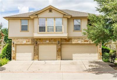 Round Rock Condo/Townhouse For Sale: 16100 S Great Oaks Dr #802
