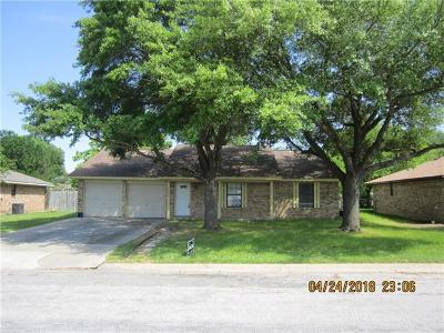 Taylor Single Family Home Pending - Taking Backups: 1000 Cottonbowl Dr