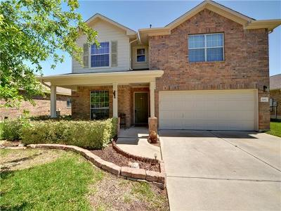 Round Rock Single Family Home For Sale: 909 Brighton Pl