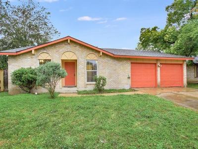 Hays County, Travis County, Williamson County Single Family Home For Sale: 5704 Creekbranch Cv