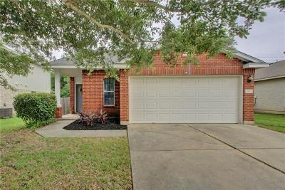 Pflugerville Single Family Home For Sale: 14812 Sassafras Trl
