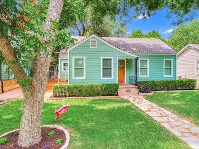 Travis County Single Family Home Pending - Taking Backups: 1813 W 37th St