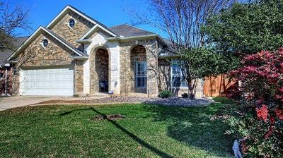 Round Rock Single Family Home For Sale: 3800 Noe Ln