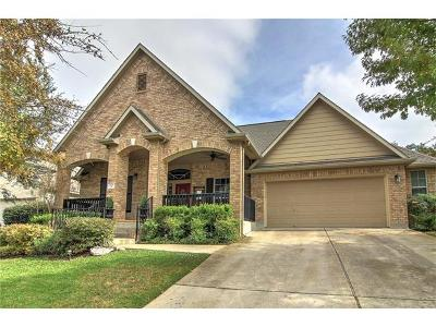 Round Rock Single Family Home For Sale: 1127 Winding Creek Pl