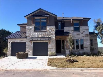 Spicewood Single Family Home For Sale: 2514 Sunset Vista Cir