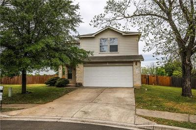 Del Valle Single Family Home Pending - Taking Backups: 12520 Mexicana Cv