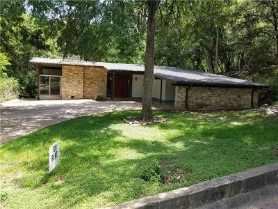 West Lake Hills Rental For Rent: 7 Hull Circle Dr