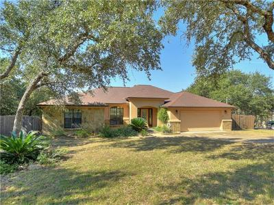Spicewood Single Family Home For Sale: 104 N Cowal Dr