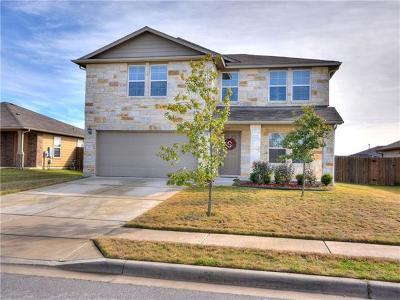 Hutto Single Family Home For Sale: 113 Hawkins Ct