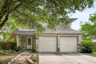 Cedar Park Single Family Home Pending - Taking Backups: 814 Brook Meadow Trl