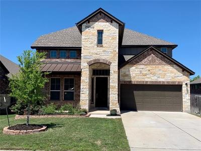 Leander Single Family Home For Sale: 3107 Tempe Dr