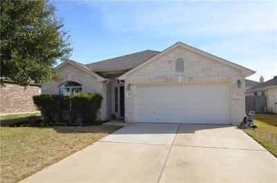 Round Rock Single Family Home Pending - Taking Backups: 1013 Hyde Park Dr