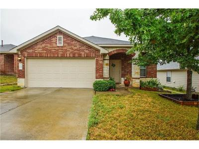 Buda Single Family Home For Sale: 245 Feathergrass Dr