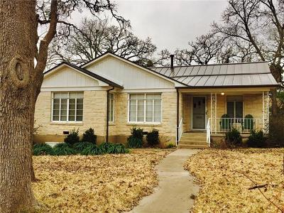 Austin Single Family Home For Sale: 4114 Lullwood Rd