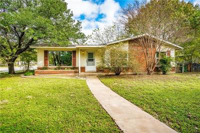 Travis County Single Family Home Pending - Taking Backups: 506 W Crestland Dr